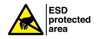 ESD protected area IDK